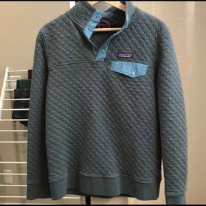 Patagonia Cotton Quilt Snap-T size small